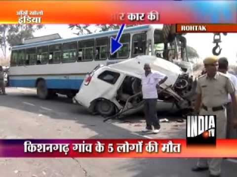 Xxx Mp4 Five Killed In Road Accident In Rohtak 3gp Sex