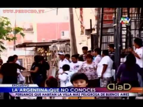 LA ARGENTINA QUE NO CONOCES PERUANOS QUE HABITAN LA VILLA MAS PELIGROSA DE BUENOS AIRES