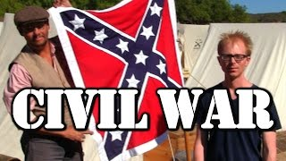 Joe Goes To A Civil War Reenactment
