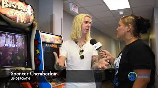 Spencer Chamberlain of UNDEROATH: Talks about his recovery & finding someone to talk too!