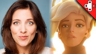 Overwatch Behind the Voice - Lucie Pohl is Mercy