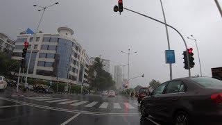Marine Drive Rainy Drive   Mumbai 2018 [4K]