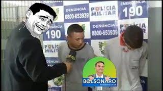BOLSONARO: Preso diz que tem que roubar agora antes de BOLSONARO ser Eleito