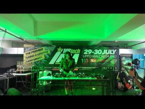 FDJ RIEEANA HIN DJ HUNT COMPETITION BALI 2017 @LIPPO MQLL
