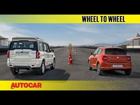 Xxx Mp4 Drag Race Mahindra Scorpio Vs Maruti Swift Autocar India 3gp Sex