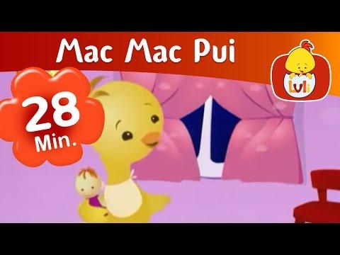 Mac Mac Pui - episod lung, copiii invata despre animale - Luli TV