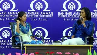 Townhall at BIT with PV Sindhu