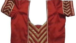 Latest Blouse Neck Designs-1