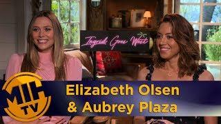 Elizabeth Olsen & Aubrey Plaza Ingrid Goes West Interview