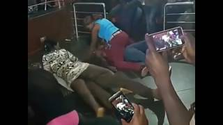 Kenyan girls misbehaving on dance floor