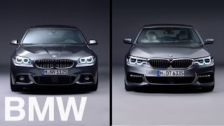 BMW vs BMW. The BMW 5 Series. 6th vs 7th generation.