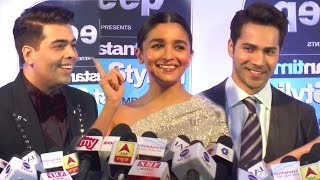 Alia Bhatt, Varun Dhawan & Karan Johar On Success Of Badrinath Ki Dulhaniya