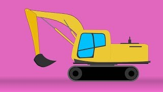 Kids TV Channel | Excavator | funky new construction toys for babies