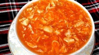 Bangladeshi Chinese Hot & Sour Soup Recipe/Bangladeshi Ranna/চাইনিজ হট সাওয়ার স্যুপ রান্নার রেসিপি
