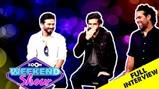 Zoom Weekend Show | Bhavesh Joshi Superhero Starcast Interview | Parmanu Movie Review