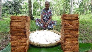 Egg in Bread ❤ Easy Breakfast Recipe by Grandma | Village Life