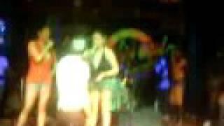 Elias Kissing Hazel Cabrera of the Viva Hot Babes