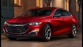 2019 Chevy Malibu - Fresh styling and new RS trim to Fight Accord, Camry