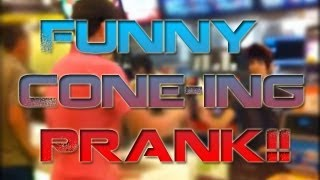 CONE-ING FUNNY PRANK
