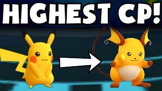 Pokemon Go HIGH CP PIKACHU EVOLUTION TO RAICHU | MASS RARE POKEMON EVOLVING SPREE GAMEPLAY