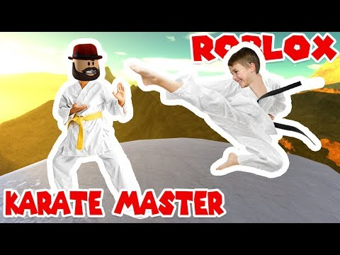 CRAZY KARATE ACTION in ROBLOX KARATE SIMULATOR