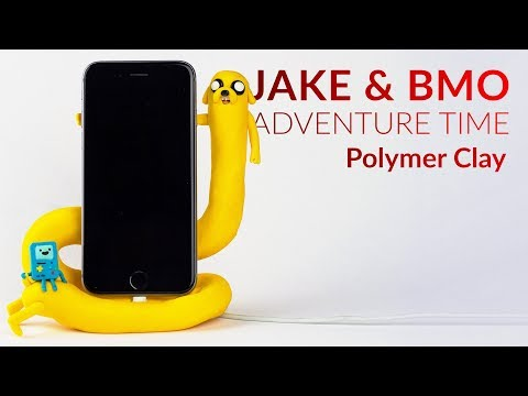 Xxx Mp4 Jake Amp BMO Adventure Time Phone Charging Dock Polymer Clay Tutorial 3gp Sex