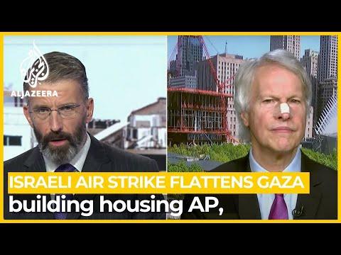 CEO of Associated Press 'shocked horrified' over Israeli attack on Gaza bureau