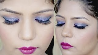 New Year's Eve Party Makeup Tutorial 2018 step by step | SuperPrincessjo