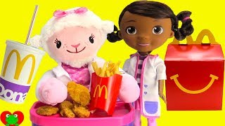 Doc McStuffins Lambie Eats McDonald
