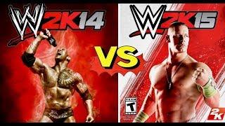WWE 2K14 Finishers VS WWE 2K15 Finishers Comparison👏😍WHO IS THE BEST 👏😍