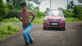 Super Strong Teen Pulls Cars With His Shoulder Blades: BORN DIFFERENT