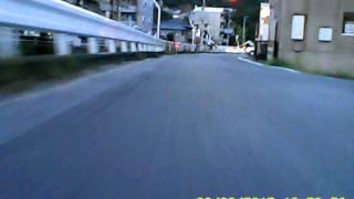 超小型ビデオカメラで超ローアングル撮影:車載編
