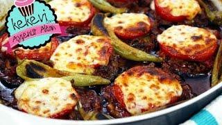 Kıymalı Bostan Patlıcan Kebabı / Patlıcan Musakka Ayşenur Altan Yemek Tarifleri