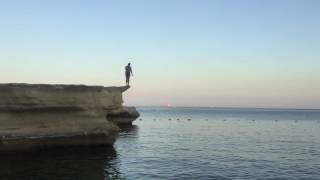 Navin suicide jump