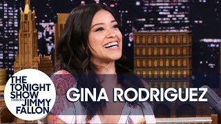 Gina Rodriguez Met Her Fiancé When He Stripped for Her on Jane the Virgin
