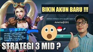 PEMAIN MYTHICAL GLORY NYOBAIN UJINYALI DI WARRIOR !! - MOBILE LEGEND INDONESIA