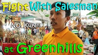 FIGHTING WITH A SALESMAN at GREENHILLS | April 2nd, 2017 | Vlog #72