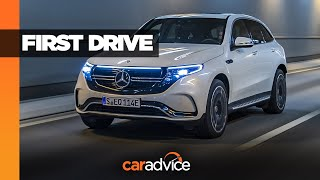 2019 Mercedes-Benz EQC 400 Detailed Review with Ionity charger demonstration