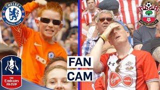The Best Fan Reactions as Chelsea Reach FA Cup Final!   Fan Cam   Emirates FA Cup 17/18