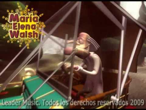 María Elena Walsh El brujito de Gulubú
