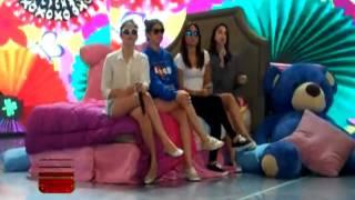 Kathryn, Liza, Julia, Janella  rehearsal for Hold My Hand by Jess Glynne