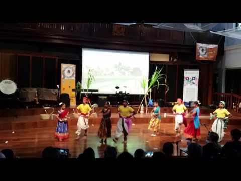 Dance by Perth North Tamil School students at the Multicultural Youth Talent Quest 2017