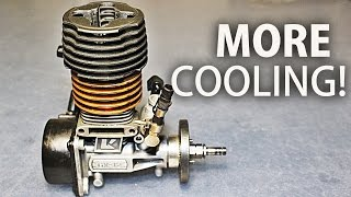 Nitro Engine Cooling Head Modification