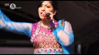 Sarika Gill performs at Manchester Mela