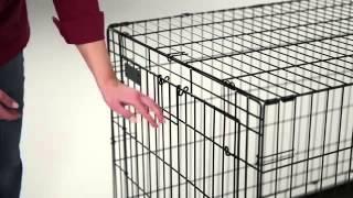 LifeStages Double Door Dog Crate