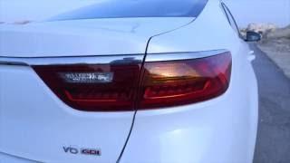 تقنيات سيارة كيا كادينزا 2017