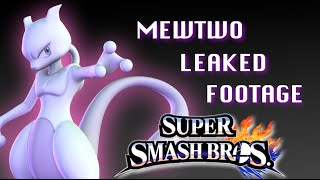 Another Mewtwo Leaked video Super Smash Bros Wii U