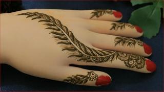 Pankhuri Design Mehndi For Hands:Easy Simple Unique Mehendi For Girls:Henna Patterns