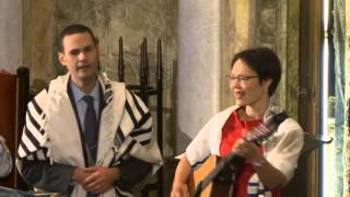 Rabbi Angela Buchdahl and Cantor Azi Schwartz - 10.4.15 - Park Avenue Synagogue