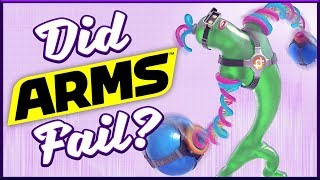 Did ARMS Fail? (Splatoon 2 Comparison)